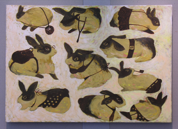 Everyone should have a rabbit - Exhibition by Lui Yuet Lai 一人要有一兔 - 呂悅麗作品展