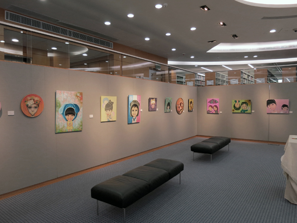 'id – the Space for My Soul' Vicky Ng's First Solo Exhibition in Hong Kong 「本我 - 我的心靈空間」 吳瑋琪 香港首個個人油畫展