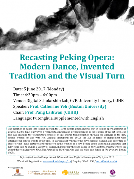 Recasting Peking Opera: Modern Dance, Invented Tradition and the Visual Turn