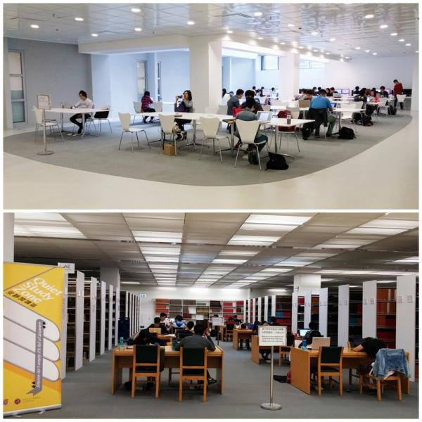 Extended Services for the Learning Garden in the University Library during exam period