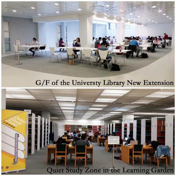 Extended Services for the Learning Garden in the University Library during exam period (Nov 28 – Dec 20)