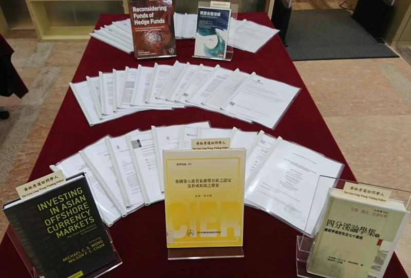 Exhibition of Publications by Professor Kuan Chung-Ming, Siu Lien Ling Wong Visiting Fellow 2018/19