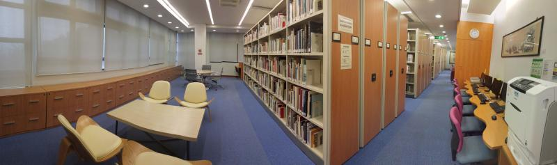 New Asia Library Second Floor