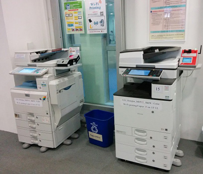 Multi-function photocopiers (MFP) 多功能影印機(MFP)