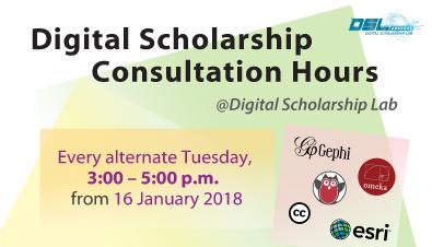 Digital Scholarship Consultation Hours