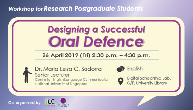Designing a Successful Oral Defence