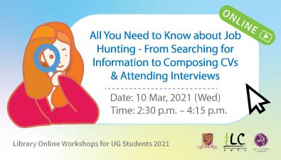 From Searching for Information to Composing CVs & Attending Interviews