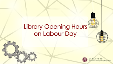 Library Opening Hours on Labour Day