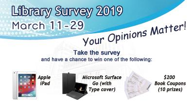 Library Survey 2019