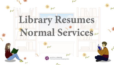 Library Resumes Normal Services