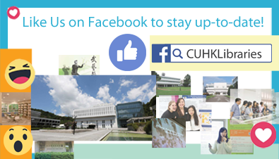 CUHK Library is on Facebook