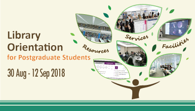 Postgraduate Library Orientation 2018