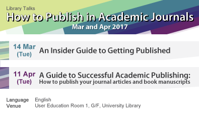 How to Publish in Academic Journals (Mar-Apr 2017)