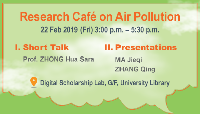 Research Café on Air Pollution