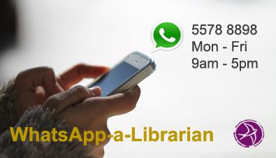 WhatsApp-a-Librarian – Get Your Answers On the Go!