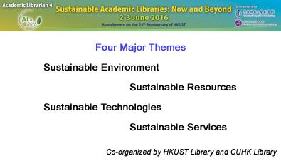 Academic Librarian 4 - Sustainable Academic Libraries: Now and Beyond P