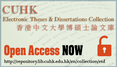CUHK Electronic Theses & Dissertations Collection